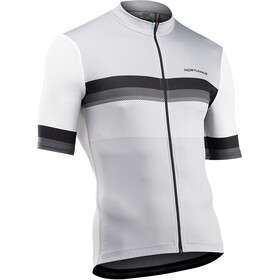 Northwave Origin Short Sleeve Jersey Men, white/gray